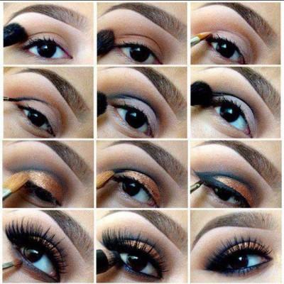 آرایش مرحله به مرحله چشم ها – 3