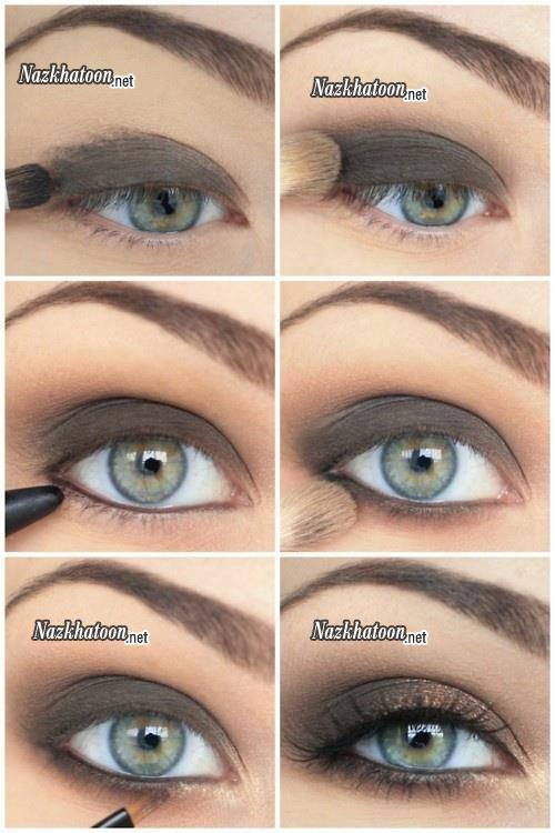 آرایش مرحله به مرحله چشم ها – 4