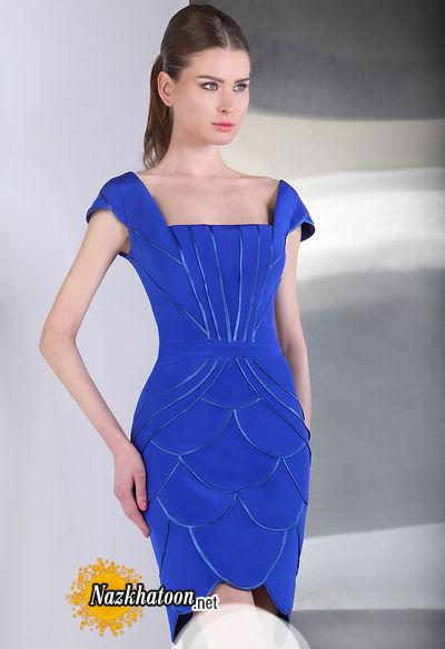 مدل لباس مجلسی کوتاه – 14