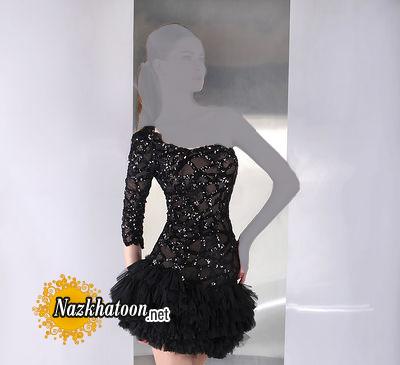 مدل لباس مجلسی کوتاه – 15