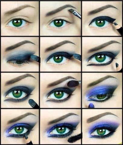 آرایش مرحله به مرحله چشم ها – 5