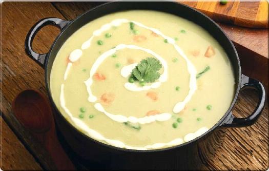 طرز تهیه سوپ برنج با خامه