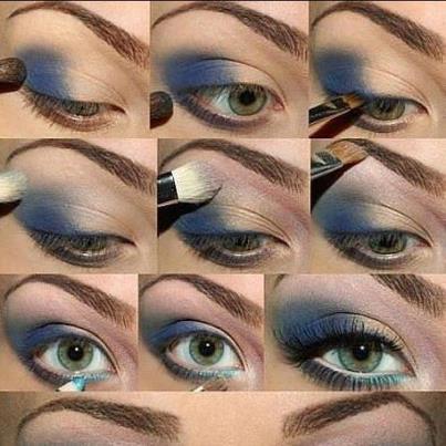 آرایش چشم – مدل 6
