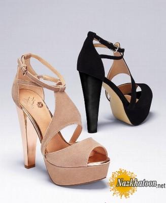 مدل کفش زنانه طرح نوروز 92