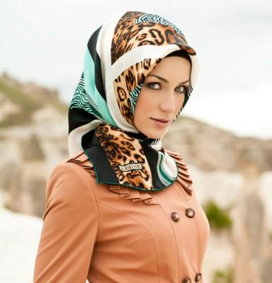 مدل جدید روسری مجلسی زنانه بهمن 91