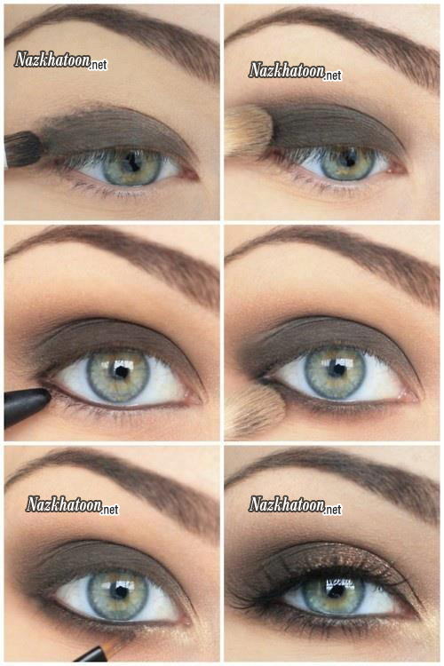آموزش آرایش چشم مرحله به مرحله