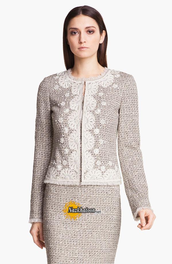 مدل لباس با پارچه های ضخیم