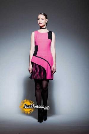 مدل لباس مجلسی کوتاه – 17