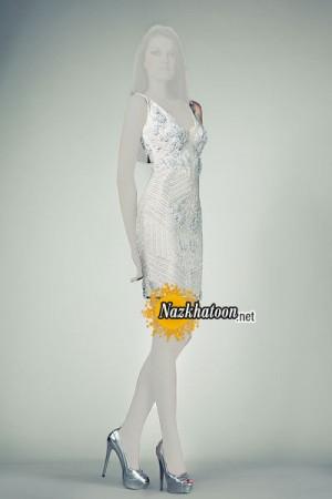 مدل لباس مجلسی کوتاه – 19