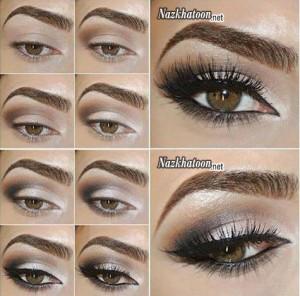 آرایش چشم – مدل 12