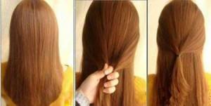 آموزش خودآرایی مو دخترانه
