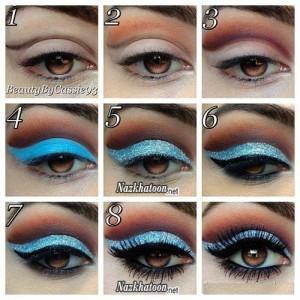 آرایش چشم – مدل 14