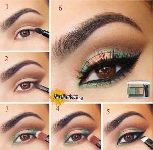 آرایش چشم  – مدل 13