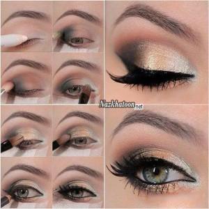 آرایش چشم – مدل 19