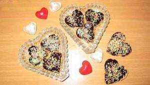 شکلات قلبی مخصوص روز عشق