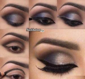آرایش چشم – مدل 17