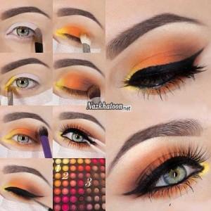 آرایش چشم – مدل 15