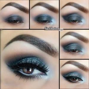 آرایش چشم – مدل 18