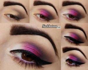 آرایش چشم – مدل 20