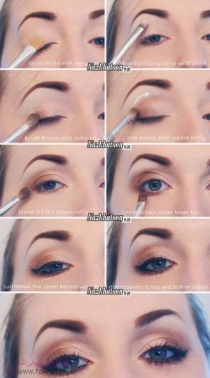 آرایش چشم – مدل 24