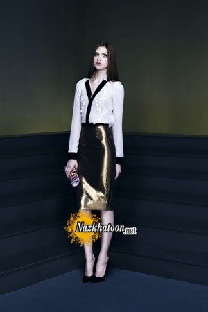 مدل لباس مجلسی کوتاه – ۲۸