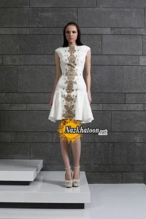 مدل لباس مجلسی کوتاه – 27