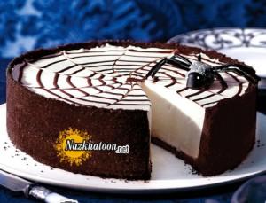 اموزش درست کردن کیک پنیری