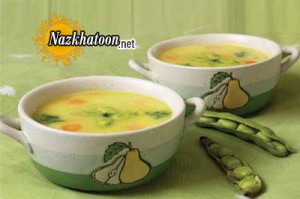 روش تهیه سوپ باقلا
