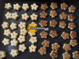 شیرینی چهار مغز مینیاتوری