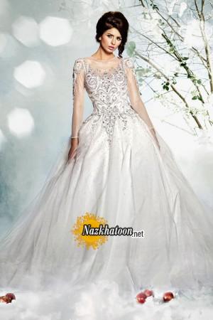 خرید لباس عروس دانتل دست دوم