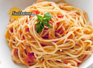 طرز تهیه اسپاگتی و ماکارونی و پنیر