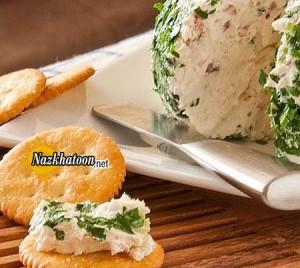 کوفته پنیر با مخلفات