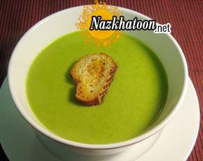 طرز تهیه سوپ سبز