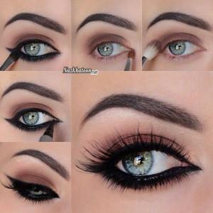 آرایش چشم – مدل 33
