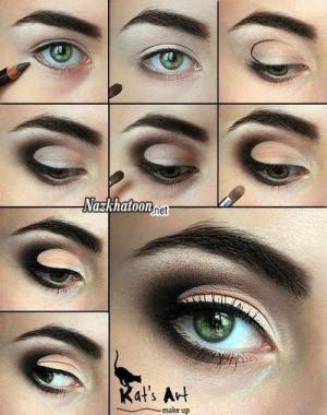 آرایش چشم – مدل 34