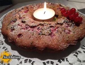 تهیه کیک پسته ای یوهانس بر آلمانی