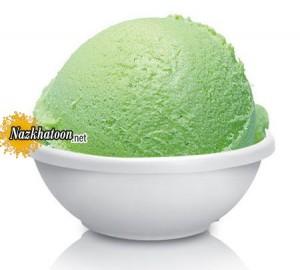 روش تهیه بستنی طالبی