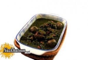 روش تهیه قورمه سبزی با سبزی خشک