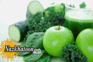 آرامش اعصاب با میوه های سبز