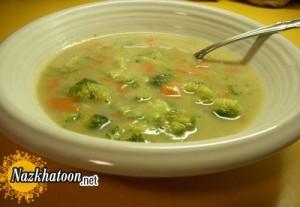 پخت سوپ کلم تند