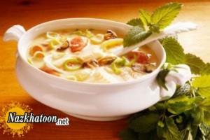 تهیه سوپ خوشمزه چربی سوز