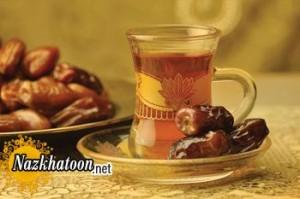 چرا چای را با توت و خرما نخوریم؟