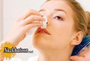 اقدامات خونریزی بینی در تابستان