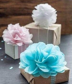 ایده جالب برای تزئین کادوی هدیه