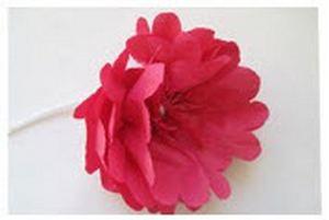 ایده جالب برای درست کردن گل کاغذی قرمز