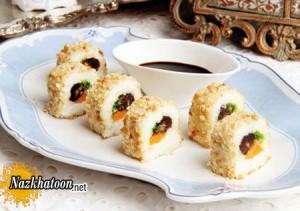 طبخ سوشیر برنج غذای جدید برای افطار