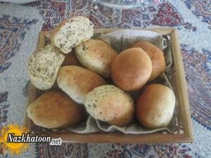 تهیه نان مغزدار نروژی