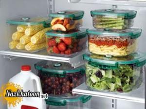 صحیح ترین روش نگهداری خوراکی ها
