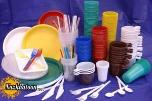 نشانه های علامتهای روی ظروف یکبار مصرف