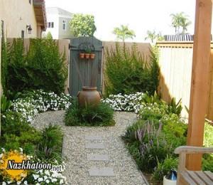مدل های سنگ فرش باغ و حیاط
